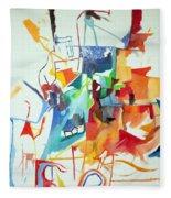 At The Age Of Three Years Avraham Avinu Recognized His Creator 1 Fleece Blanket