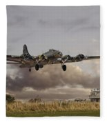 B17- 'airborne' Fleece Blanket