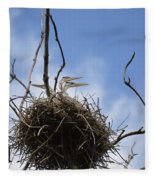 Blue Heron Rookery 7212 Fleece Blanket