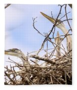 Blue Heron Rookery 7214 Fleece Blanket