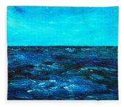 Body Of Water Fleece Blanket