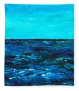 Body Of Water Fleece Blanket