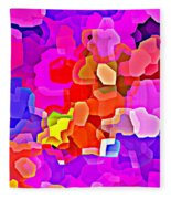 Bold And Colorful Phone Case Artwork Designs By Carole Spandau Cbs Art Exclusives 101 Fleece Blanket