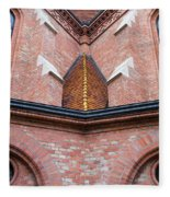 Buda Reformed Church Architectural Details Fleece Blanket