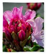 Coast Rhododendron Fleece Blanket