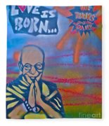 Dalai Lama 1 Fleece Blanket