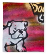 Dogged Out 1 Fleece Blanket