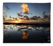 Earth Third Planet From The Sun Fleece Blanket