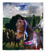 Entlebucher Sennenhund  - Entelbuch Mountain Dog Art Canvas Print -who Is The Winner Of The Race Fleece Blanket