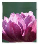 Exotic Tulip Fleece Blanket