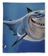 Finding Nemo Painting Fleece Blanket