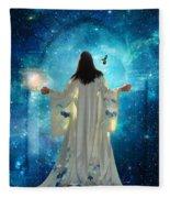 Heavens Door Fleece Blanket