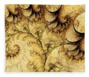 Idea Of A Tree Fleece Blanket
