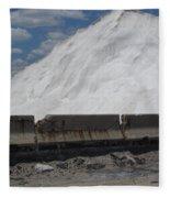 Jones Island Salt 1 Fleece Blanket