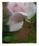 July  Rose Thought Fleece Blanket