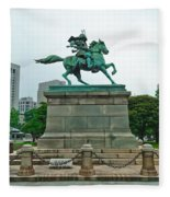 Kusunoki Masashige Fleece Blanket