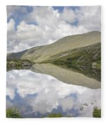 Lakes Of The Clouds - Mount Washington New Hampshire Fleece Blanket