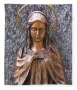 Mary Daughter Of Joachim Fleece Blanket