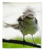Mockingbird Dance Fleece Blanket