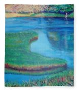 Myakka Sanctuary Fleece Blanket