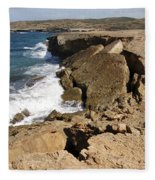 Natural Bridge Oranjestad Aruba Fleece Blanket
