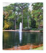 Norfolk Botanical Gardens 2 Fleece Blanket