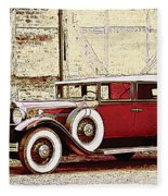 Packard Standard Eight Convertible Fleece Blanket