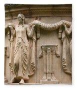 Palace Of Fine Art Relief  Fleece Blanket