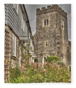 Plaxtol Church And Church Row Fleece Blanket