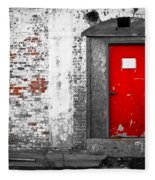 Red Door Perception Fleece Blanket