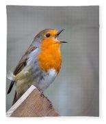 Robin Song Fleece Blanket