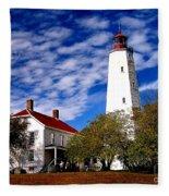 Sandy Hook Light Fleece Blanket