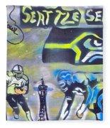 Seattle Seahawks Superbowl  Fleece Blanket