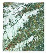 Spring Drops Fleece Blanket