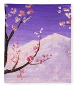 Spring Will Come Fleece Blanket