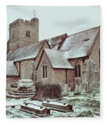 St Mary And All Saints Boxley Fleece Blanket