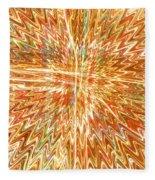 Star Light Of Christmas Fleece Blanket