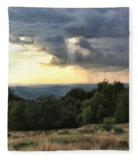 Storm Is Coming Fleece Blanket