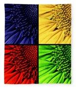 Sunflower Medley Fleece Blanket