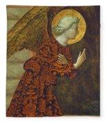The Archangel Gabriel Fleece Blanket