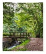 The Bridge Birches Valley Cannock Chase Fleece Blanket