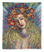The Loving Angel Fleece Blanket