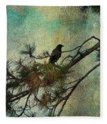 The Old Pine Tree Fleece Blanket