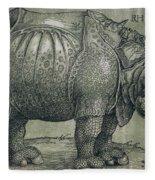 The Rhinoceros Fleece Blanket