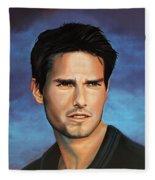 Tom Cruise Fleece Blanket