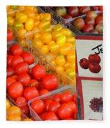 Tomatoes Nj Special Fleece Blanket