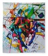 Tzadik 1 Fleece Blanket