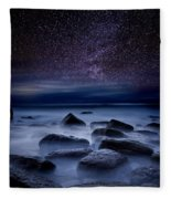 Where Dreams Begin Fleece Blanket