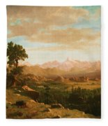 Wind River Country Fleece Blanket