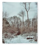 Woodland Walk Fleece Blanket
